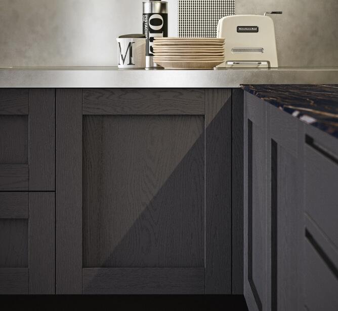 Modele lucia - finition bois noir